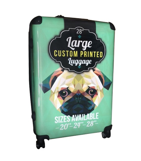 Custom Printed Luggage