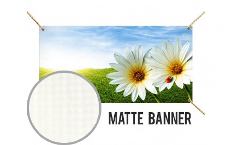 Matte Banner - 13oz. Scrim