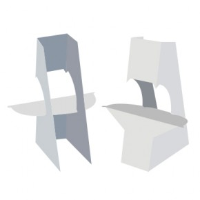 """Easel Back - 9"""" Double Wing with Tape"""