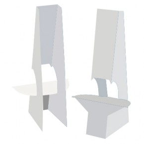 """Easel Back - 15"""" Double Wing with Tape"""