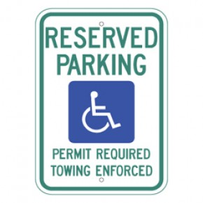 "Handicap - Arkansas - 12""x18"""