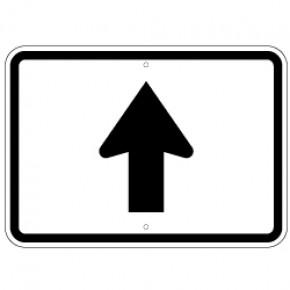 """Informational Arrow 4 - 21""""x15"""""""
