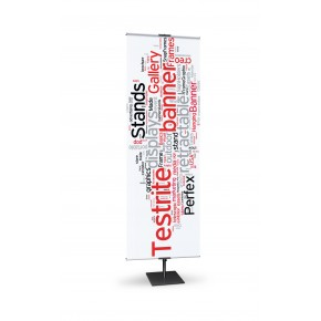 """Classic Banner Stand (12"""") Adjustable"""