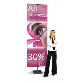 """Classic Banner Stand (36"""") Adjustable"""