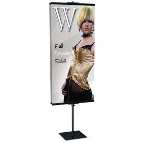 "GripGraphics Banner Stand 24"" x 96"""