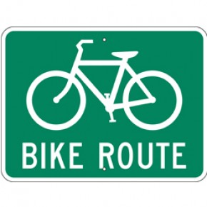 "Bicycle Sign 1 - 24""x18"""