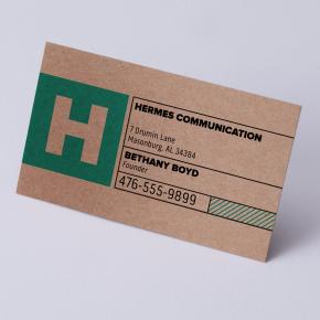 Business Card (Brown Kraft)