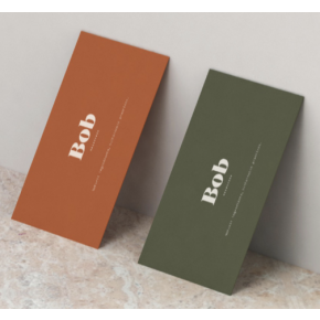 Business Card (Suede)