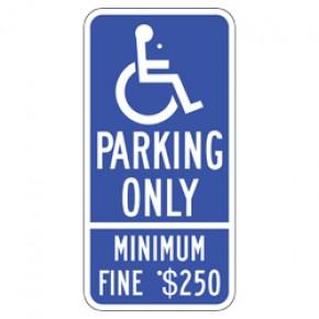 """Handicap - California 1 - 12""""x24"""""""