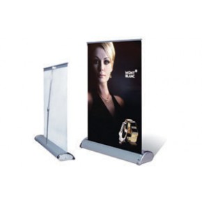 "Desktop Retractable with Graphics 12"" x 16"""