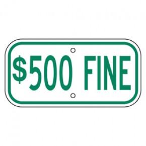 "Handicap Fines 11 - 12""x6"""