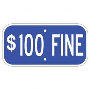 "Handicap Fines 2 - 12""x6"""