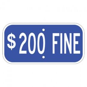 "Handicap Fines 3 - 12""x6"""