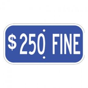 "Handicap Fines 4 - 12""x6"""