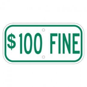 "Handicap Fines 6 - 12""x6"""