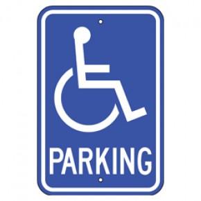 "Handicap Parking 1 - 12""x18"""
