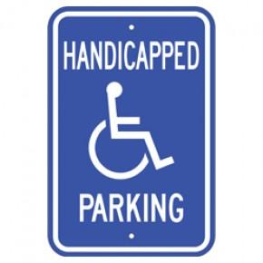"Handicap Parking 2 - 12""x18"""