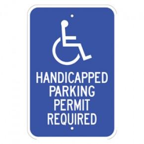 "Handicap Parking 3 - 12""x18"""