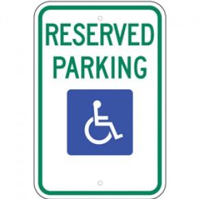 "Handicap Parking 5 - 12""x18"""