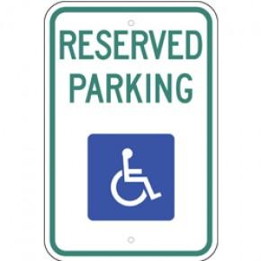 "Handicap Parking 6 - 12""x18"""