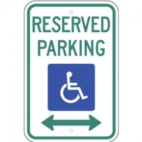 "Handicap Parking 7 - 12""x18"""
