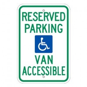 "Handicap Parking 8 - 12""x18"""