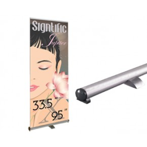 """Signtific Jupiter Retractable (33.5"""" x 95"""") Stand Only"""