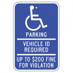 "Handicap - Minnesota - 12""x18"""