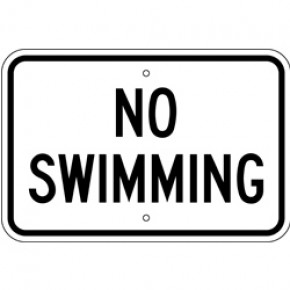 "Pool Sign 4 - 18""x12"""