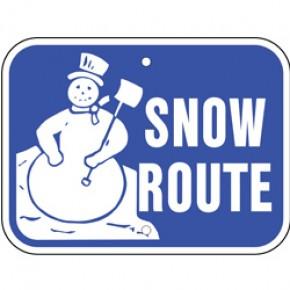 "Snow Sign 1 - 12""x9"""