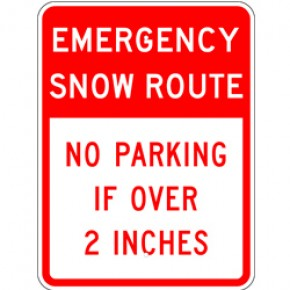 "Snow Sign 2 - 18""x24"""