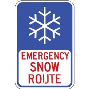 "Snow Sign 3 - 12""x18"""