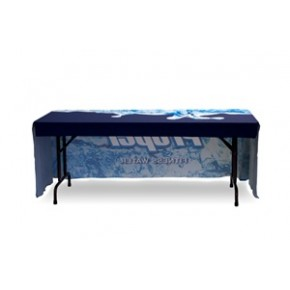 Full Color Table Throw - 6 ft. / Three Sides