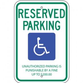 """Handicap - Tennessee - 12""""x18"""""""