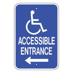 """Handicap Van Accessible 2 - 12""""x18"""""""