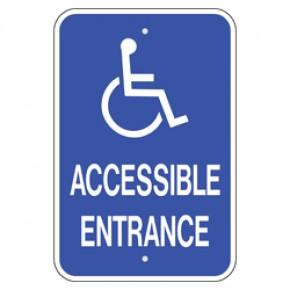 """Handicap Van Accessible 3 - 12""""x18"""""""