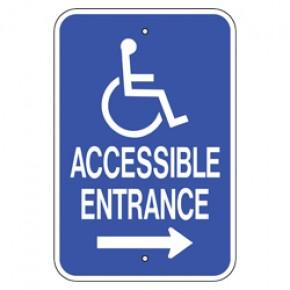 """Handicap Van Accessible 4 -12""""x18"""""""