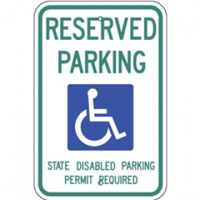 "Handicap - Washington - 12""x18"""