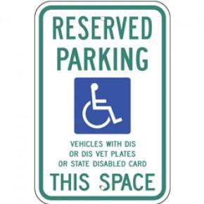 """Handicap - Wisconsin - 12""""x18"""""""
